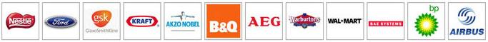 Logos to tylko niektóre z firm, które korzystają Armagard produktów