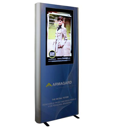 Digital Signage Advertising, Monitor reklamowy