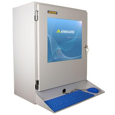 Obudowa przemysłowa do monitora LCD