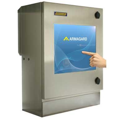 kompaktowa wodoodporna obudowa ekranu dotykowego